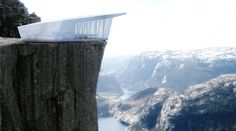 Pop-Up Restaurant Will Sit Atop Famous Buildings and Mountains | Co.Design | business + design