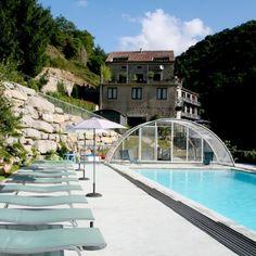 Verwarmd zwembad La Manifacture, Ardèche
