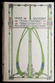 Translation: New German Novel Treasure, Cover by illustrator Jessie M. King