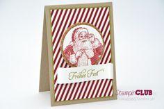DSC_2148 Stampin Up Christmas Weihnachten Santa's List Wunschzettel Wunderbare Weihnachtsgrüße Framelits Circles Collection Kreis-Kollektion...