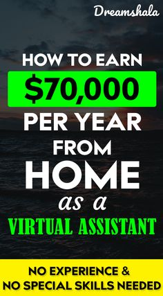 Lear how to earn money from home. See the work from home job you can do to make money from home Ways To Earn Money, Earn Money Online, How To Raise Money, Way To Make Money, How To Become, Money Tips, Work From Home Jobs, Make Money From Home, Own Business Ideas