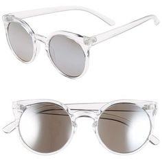 Women's Tildon 55mm Clear Cat Eye Sunglasses