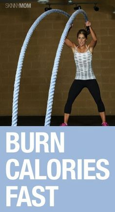 Calorie Torching Workouts - This rope workout will have you burning calories in minutes! Fitness Tips, Fitness Motivation, Health Fitness, Toning Workouts, At Home Workouts, Battle Rope Workout, Burn Calories Fast, Battle Ropes, Outdoor Gym