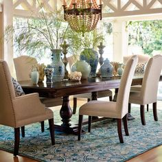 Avalon Upholstered Dining Side Chair More