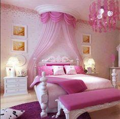 Sweet princess bedroom