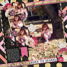 Born To Sparkle by Red Ivy Designs at Sweet Shoppe Designs