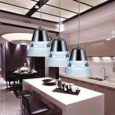 Simple Modern LED Acrylic Pendant Light – BRL R$ 341,18