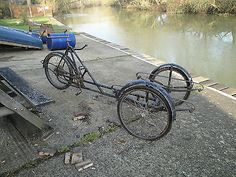Dutch Cargo Bicycle - Coffee Tricycle - Vintage bicycle -Town bike in Sporting Goods, Cycling, Bikes | eBay!