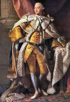 George III (portrait by Alan Ramsay, 1762) - King of England 1760-1820 In the later part of his life, George III suffered from recurrent, and eventually permanent, mental illness (possibly from the blood disease porphyria). After a final relapse in 1810, a regency was established, and his eldest son, George, Prince of Wales, ruled as Prince Regent. On George III's death, the Prince Regent succeeded his father as George IV.