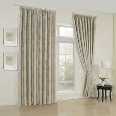 Floral Neoclassical Brown Blackout Curtains  #curtains #decor #homedecor #homeinterior #brown
