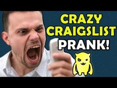Crazy Guy on Craigslist Prank