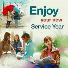 New service year