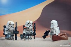 LEGO Foreign Exchange Troopers.