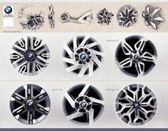 BMW rims by Ziad Zahar // Source: http://ziadzahar.blogspot.com/