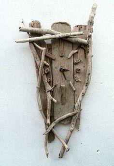 Driftwood Clock | crafts