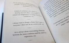 weiwei-isms - definitely worth reading and re-reading @aiweiwei