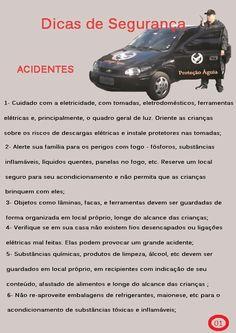 Dicas de Segurança Acidentes 1