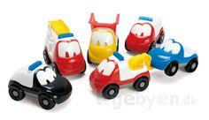 Køb Biler - Fun Cars i plast fra Dantoy - 16 stk. online - Dantoy