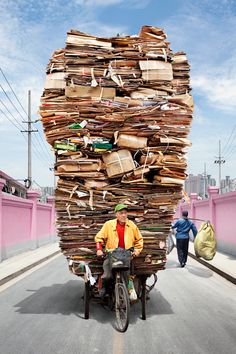 China Totem Bikes. Today cardboard tomorrow? Keep a lookout when in Shanghai.