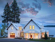 90 incredible modern farmhouse exterior design ideas (50) #UrbanExteriorDesign
