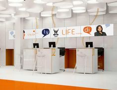 new interior standard for ing bank outlets medusa industry bank and office interiors