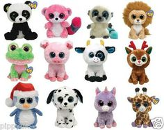 """TY BEANIE BOOS BOO ~ CHOOSE YOUR 6"""" CHARACTER SOFT PLUSH TOY ***NEW"""