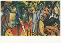 Original artwork August Macke, 1912