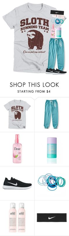 """Untitled #5085"" by laurenatria11 on Polyvore featuring Aéropostale, RéVive and NIKE"