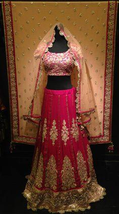 Bridal Lengha Website : http://www.bhartistailors.com/ Email : arvin@bhartistailors.com