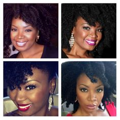 The many faces of Melissa.   Photos of:  Melissa Hibbert, Beauty Expert & Founder of SHEEQ Cosmetics.