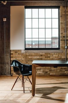 By Rustix Studio. Walnut table base with metal top. Live Edge Furniture, Furniture Design, Modern Office Table, Walnut Table, Dining Bench, Mid-century Modern, Mid Century, Base, Studio