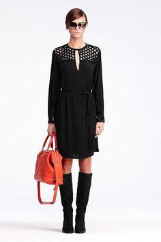 Bernadette Basket Net Dress   Dresses by DVF