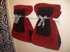 Bathroom Towel Display on Pinterest | Decorative Bathroom ...