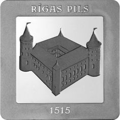 5 Euro Silber Rigaer Schloss PP
