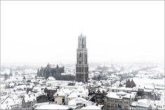 Prachtbeelden van wit Utrecht