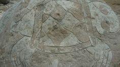 Kathy Munguia, detalle, talla en piedra 2013