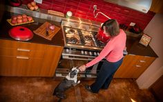 Cheryl Forberg's Fisher & Paykel Kitchen
