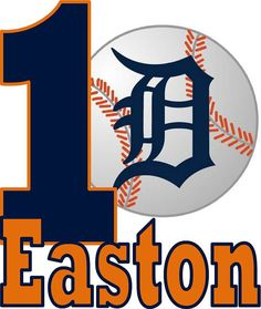 Detroit Tigers Iron On Applique  with Name by SayCheezeBaby, $5.00