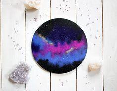 Galaxy Circle Painting