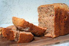 Guardanapo de Papel: Pão de calabresa e queijo [máquina de fazer pão]