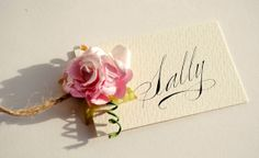 Calligraphy for Weddings ~ Beautiful Handwritten Calligraphy and a 10��0Saving For All Readers