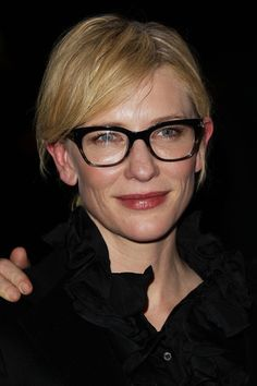 Cate Blanchett: 'Histrionic' Opening Night with Andrew Upton!: Photo Cate Blanchett and husband Andrew Upton arrive for the opening night of The Histrionic at the Sydney Theatre Company on Wednesday (June in Sydney, Australia. Oprah Glasses, Nice Glasses, Ralph Lauren Glasses, Celebrities With Glasses, Anya Taylor Joy, Eyeglasses Frames For Women, Tessa Thompson, Cate Blanchett, Womens Glasses