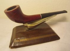 Vintage Dr. Webb Filter Pipe Zulu Horn Shape Briar Estate Tobacco Smoking Pipe