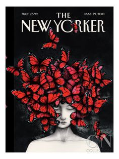 Homage - The New Yorker Cover, March 29, 2010 Premium Giclee Print