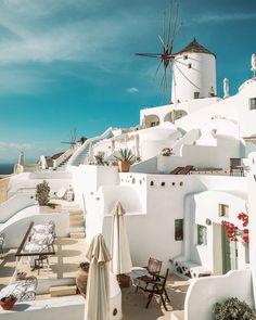 Love, peace, and Santorini, Greece