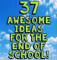 The last few weeks of school is a great time to do some of the those fun enrichment activities that you may have had to put off in order to fit all that is required in. Make some memories, get outside, and start thinking about the long days of summer ahead. Here are some ideas! Write a Letter:Some ideas include having students write a letter