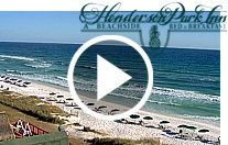 The Henderson Park Inn is an incredible New England style inn. Perfect for a romantic getaway. Located in the heart of Destin next to the Henderson State Park, this webcam will give you sweeping views of the Gulf of Mexico, the beach, the Destin skyline, and the Henderson State Park.