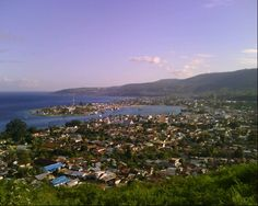 Luwuk City in Sulawesi Tengah :)