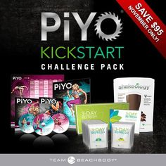 This is such an awesome deal!!! You get 30 Day supply of Shakeology, the complete Piyo program, and a 3 day refresh to kick off your new journey!!!! Love this!!!  Dawnsworkingit.com