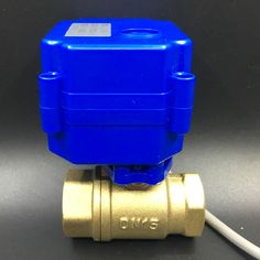 21.17$  Buy now - http://ali8kj.shopchina.info/go.php?t=688908928 - Shipping Free 12VDC Water Electric Valve BSP 1/2'' Brass 2 Way CR02 Wiring 3 Control Wires For Water Application 21.17$ #magazineonlinebeautiful